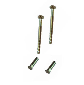 Brass M4 Screws and blank sleeve